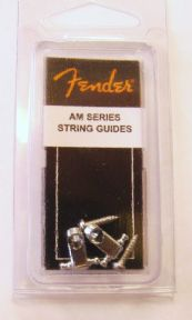 Fender AM Series String Guides (2 pcs) Chrome  099-4911-000 0994911000
